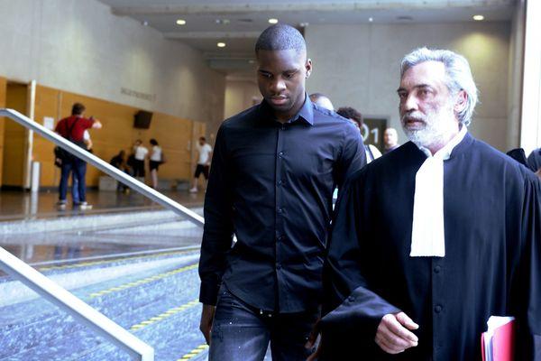 Odsonne Edouard avec son avocat Maître Pierre Lebonjour