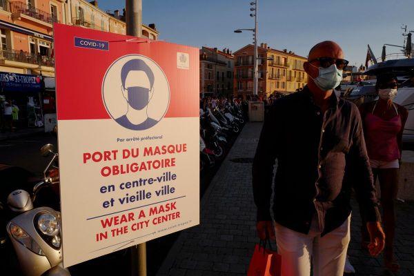 Dans les rues de Saint Tropez le 8 août dernier.