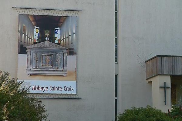 L'abbaye de Sainte-Croix près de Poitiers (Vienne)