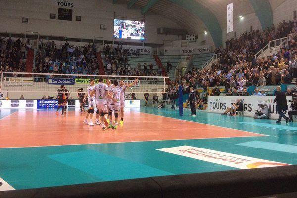 Le Tours Volley Ball tout près d'une nouvelle finale européenne