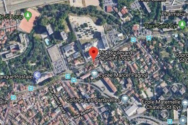 Mort d'un jeune home de 20 ans dans un accident de la route à saint-Loup Marseille(10ème)