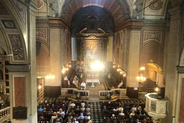 Une messe solennelle s'est tenue ce matin à Ajaccio.