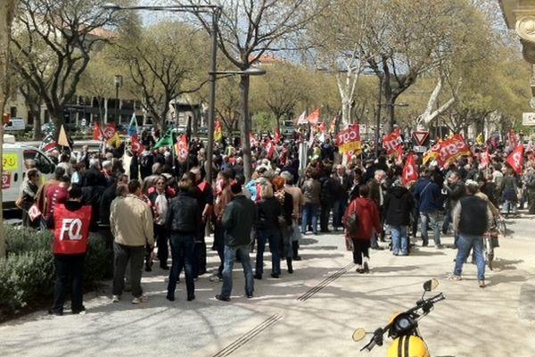 Nîmes - 9 avril 2013.