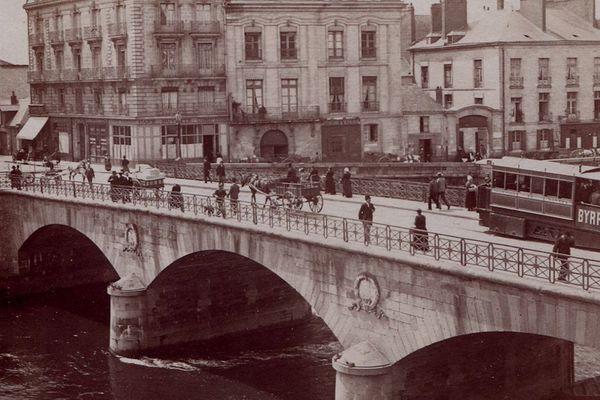 Nantes vers 1900, photographie de Victor Girard