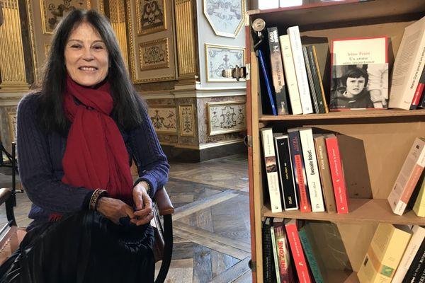 Irène Frain, invitée de la Bibliothèque Vagabonde au Parlement de Bretagne à Rennes