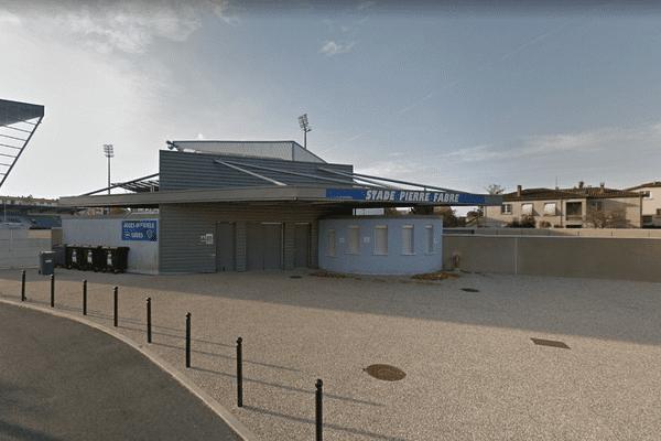 L'entrée du Stade Pierre Fabre à Castres