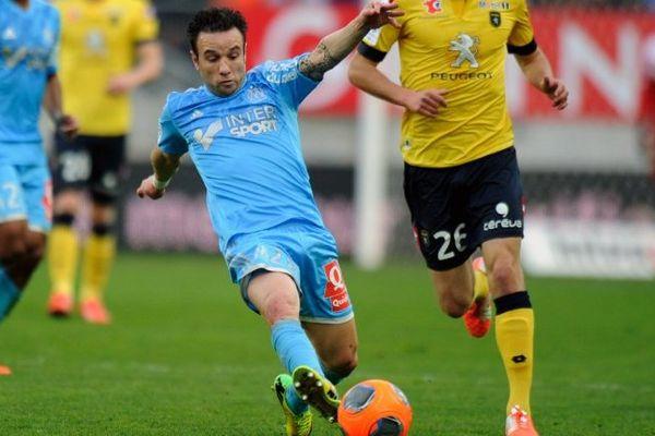 Mathieu Valbuena samedi dernier contre Sochaux.