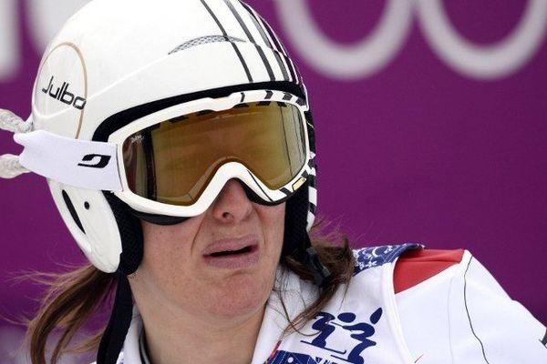 Grosse déception pour la skieuse des Hautes-alpes, Alizée Baron