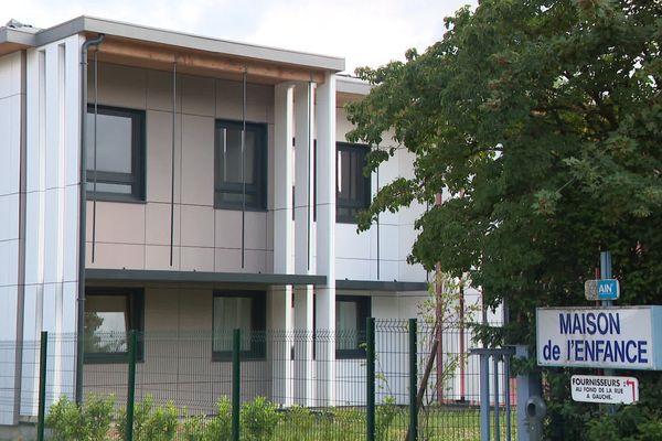 Le site de la Maison de l'enfance à Bourg-en-Bresse (Ain).