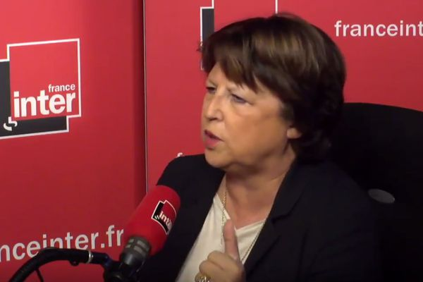 Martine Aubry, ce mercredi sur France Inter