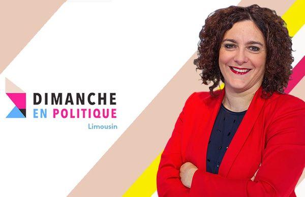 Annaïck Demars, présentatrice de Dimanche en politique sur France 3 Limousin