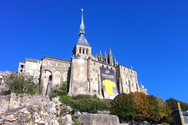 Le maillot jaune a été accroché ce lundi matin à la Merveille