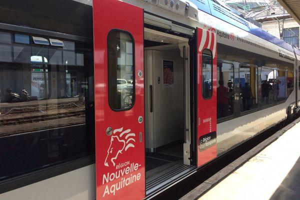 L'agression a eu lieu sur la ligne Poitiers-Châtellerault, au niveau de la gare de Jaunay-Marigny