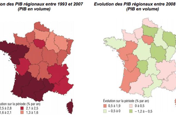 Source : Insee, Comptes régionaux base 2005
