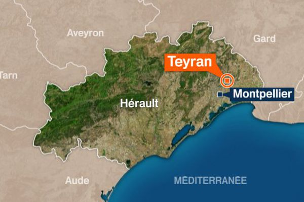Teyran dans l'Hérault.