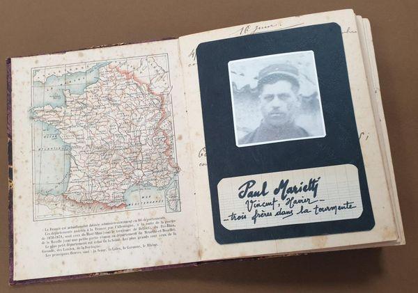 Les élèves de CM2 ont imaginé le carnet intime de Paul Marietti, mort en 1918, au retour de la guerre.