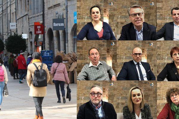 Comment rendre le centre-ville de Besançon plus attractif ? Les candidats aux municipales 2020 répondent.
