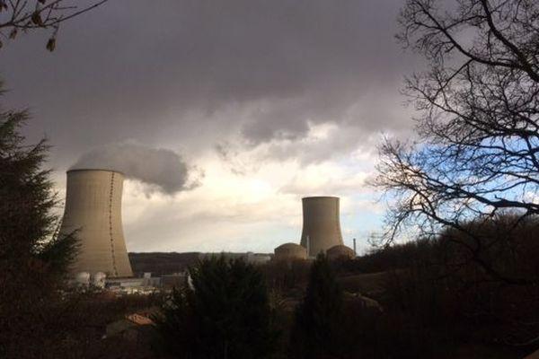 La centrale nucléaire de Civaux (86).