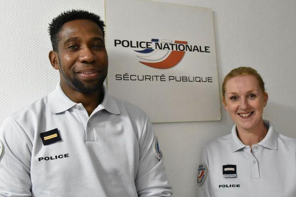Olivier et Virginie n'ont pas hésité à plonger dans la Saône ce mardi 31 décembre.