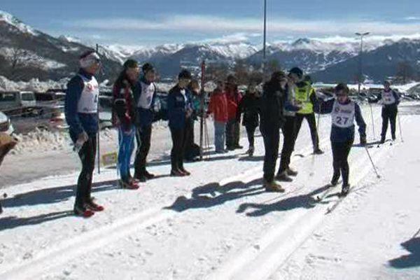 Jeudi ont eu lieu les épreuves de ski nordique à Réallon.