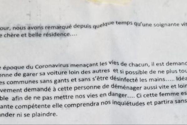 Un corbeau sévit dans plusieurs résidences de l'agglomération de Bayonne.
