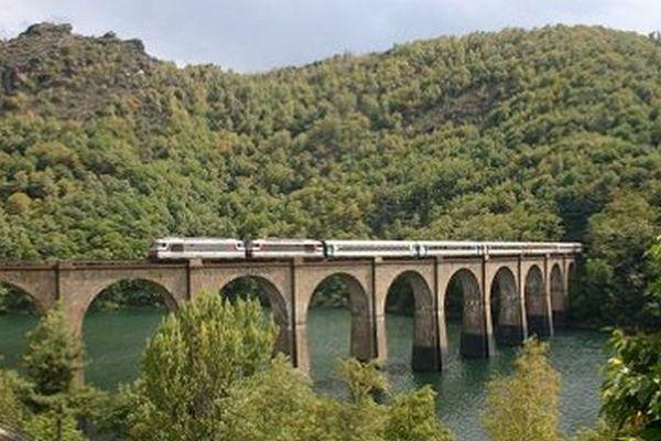Train Alès-Villefort - archives