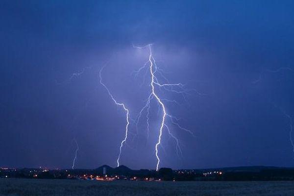 Orages ce samedi soir dans le Nord Pas-de-Calais.