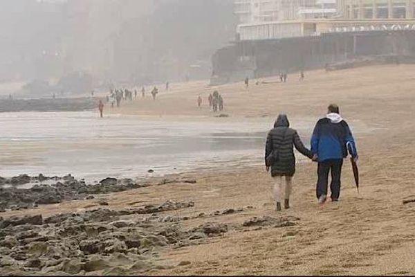 Biarritz ce samedi 21 mars matin.