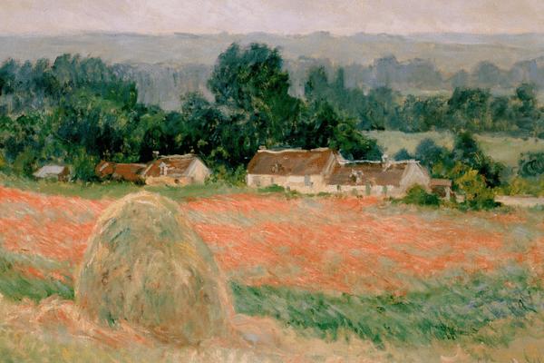 La Meule de foin 1886, Claude Monet, musée de l'Ermitage, Saint-Pétersbourg.