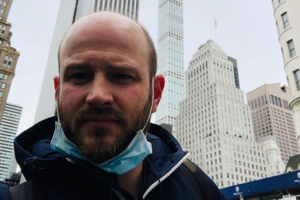 Yohann Cuynet, Jurassien expatrié à New York, vit confiné dans le quartier économique de la grosse pomme, Manhattan