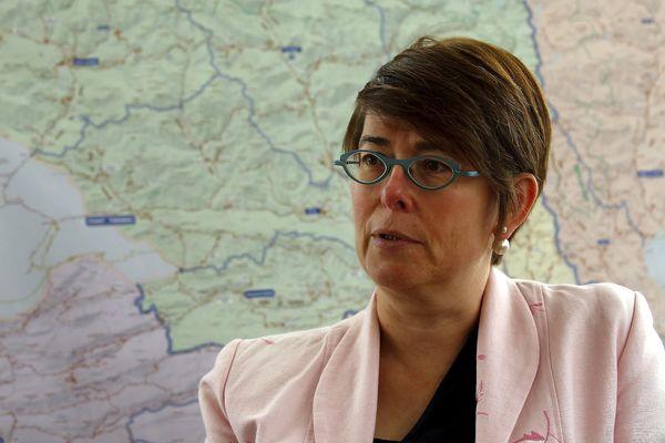 La sous-préfète Gwenaëlle Chapuis.
