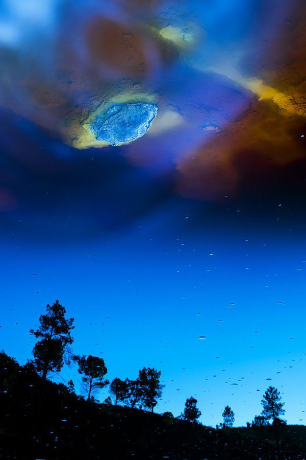 """En plus du grand prix du festival, José Pesquera a été auréolé d'un autre prix : celui des paysages naturels du monde, en catégorie photographe de plus de 16 ans, pour sa photo """"Sideral Landscape""""."""