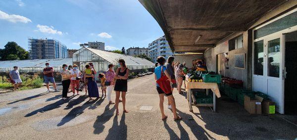 Deux marchés sont organisés chaque semaine au sein même de la ferme
