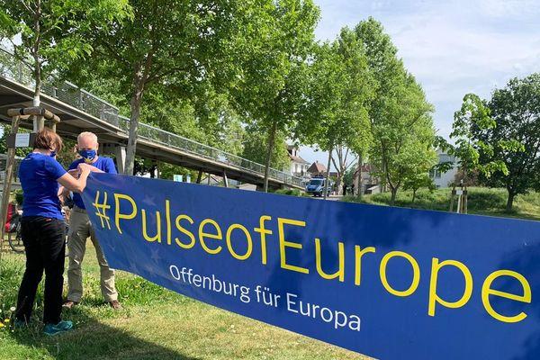 """""""Pulse of Europe"""" est une initiative citoyenne pro-Europe, lancée à il y a quatre ans à Francfort."""