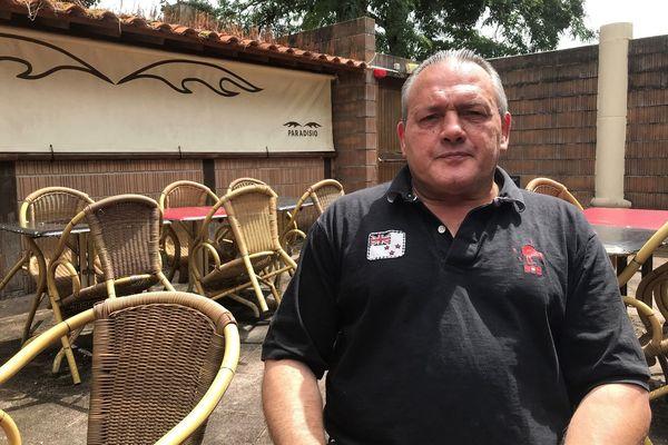 """Eric Moro gérant de la discothèque """"Paradisio"""" à Quéven et qui a ouvert malgré l'interdiction liée au coronavirus"""