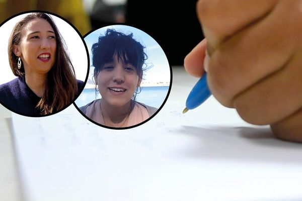 Maha et Noelia sont allés à la rencontre des lycéens de Casablanca et de Toulon.