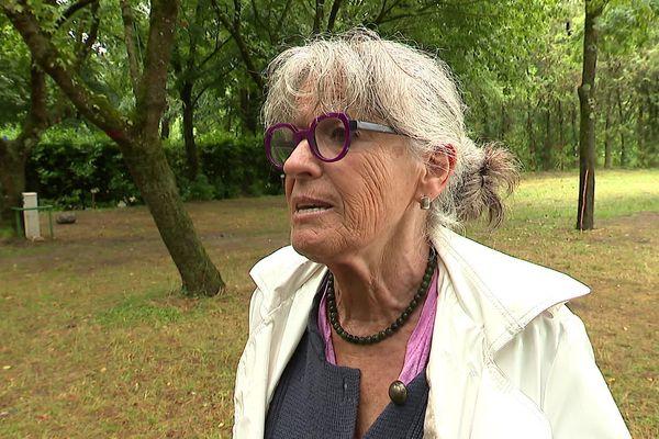 Martine Volle-Wild, maire d'Avèze, a dû fermer le camping pour raison sanitaire