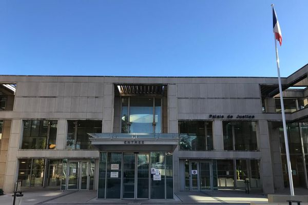 Le Tribunal judiciaire de Montpellier, dans l'Hérault.