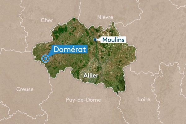Le corps sans vie de MIreille Jouanneton a été retrouvé samedi 4 mai après-midi près de son domicile de Domérat, dans l'Allier.