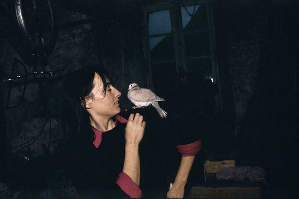 La photographe photographiée : Madeleine de Sinéty à Poilley