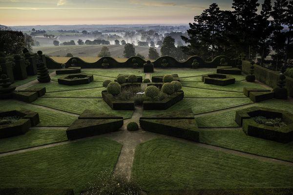 Les jardins de la Ballue offre une vue superbe sur la vallée du Couesnon