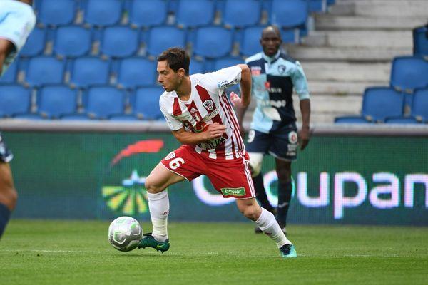 ILLUSTRATION/ L'Ajaccien Mathieu Coutadeur avait déjà brillé face au Havre, la saison dernière.