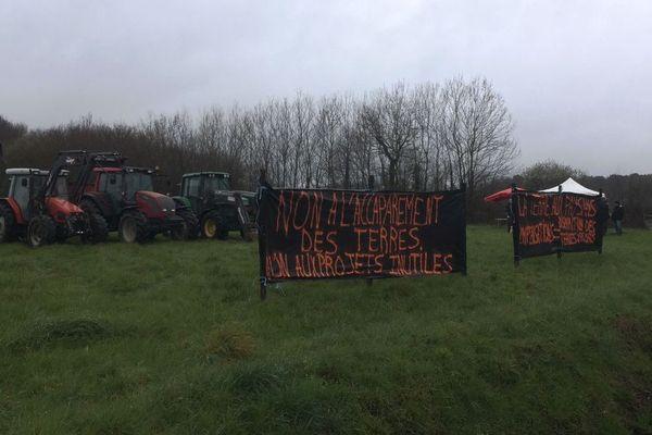 Les agriculteurs de Guipry-Messac sont mobilisés contre le projet de parc Avalonys
