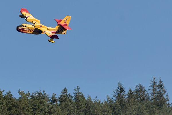 Un Canadair de la Sécurité civile en mission - septembre 2020 (image d'illustration).