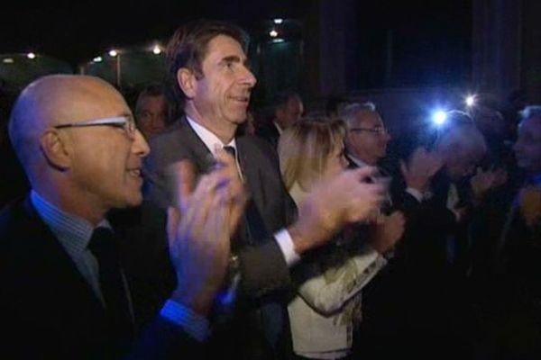 Eric Ciotti, Charles-Ange Ginesy, Jean Leonetti et bien d'autres élus UMP sont venus soutenir François Fillon