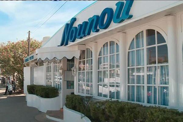 """Le restaurant """"Nounou"""" à Golfe-Juan est visé par la décision de destruction."""