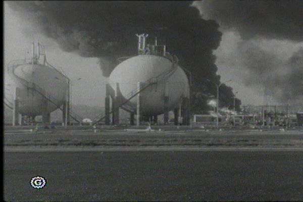 La catastrophe de Feyzin, il y a tout juste 55 ans ... le 4 janvier 1966.