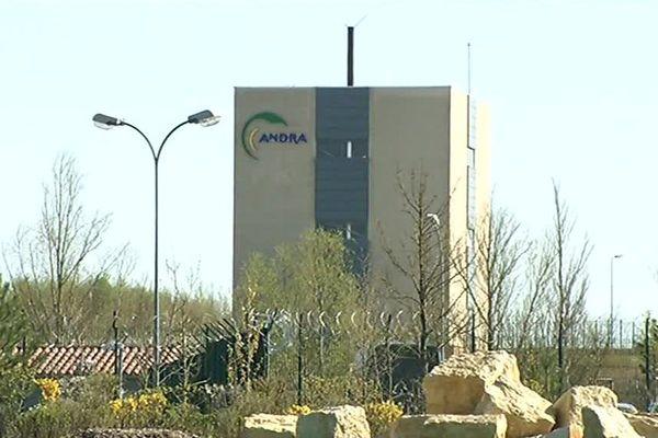 Le site d'enfouissement de déchets nucléaires Cigéo par l'ANDRA à Bure en Meuse.