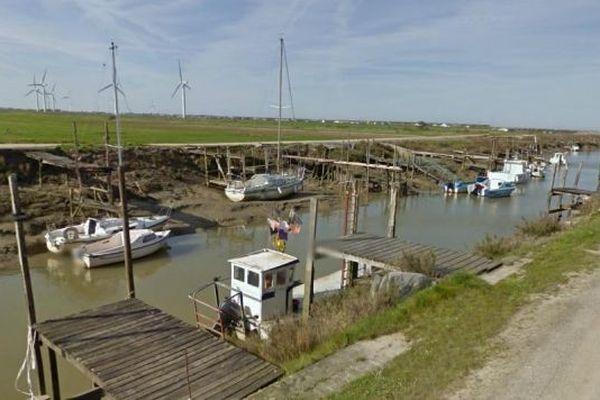 Port des champs à Bouin en Vendée, c'est là qu'ont été récupérés les 5 plaisanciers naufragés