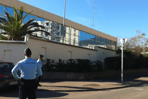 07/12/13 - La caserne Paoli du groupement de gendarmerie de la Haute-Corse à Montesoro (Bastia)